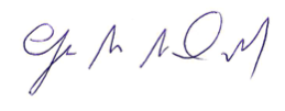 Glen MacDonald's Signature