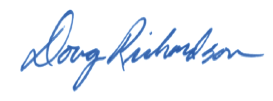 Douglas Richardson's Signature