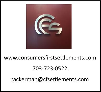 Consumer First Settlements