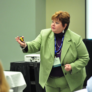 Michelle Fenton Speaks at The NATSO Show