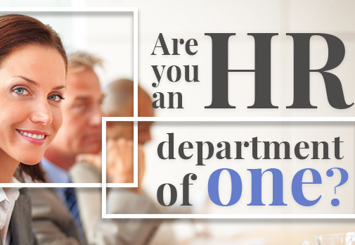 Join us on October 6th in West LA for HR Department of One!