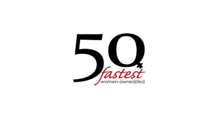 50 Fastest Growing Women-Owned/Led