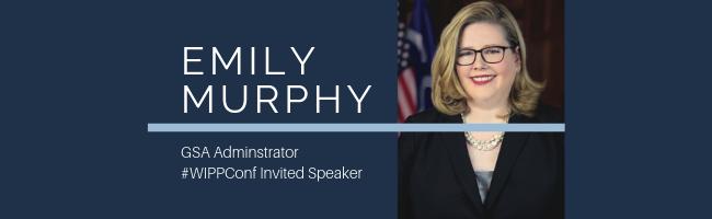 Speaker Announcement for Emily Murphy
